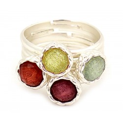 Anillo multicolor y transformable Rodas18116